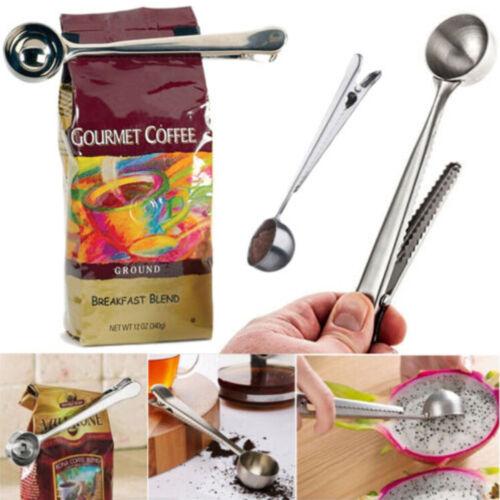 Stainless Steel Coffee Milk Spoons Powder Tea Leaves Measuring Scoop Spoons SP