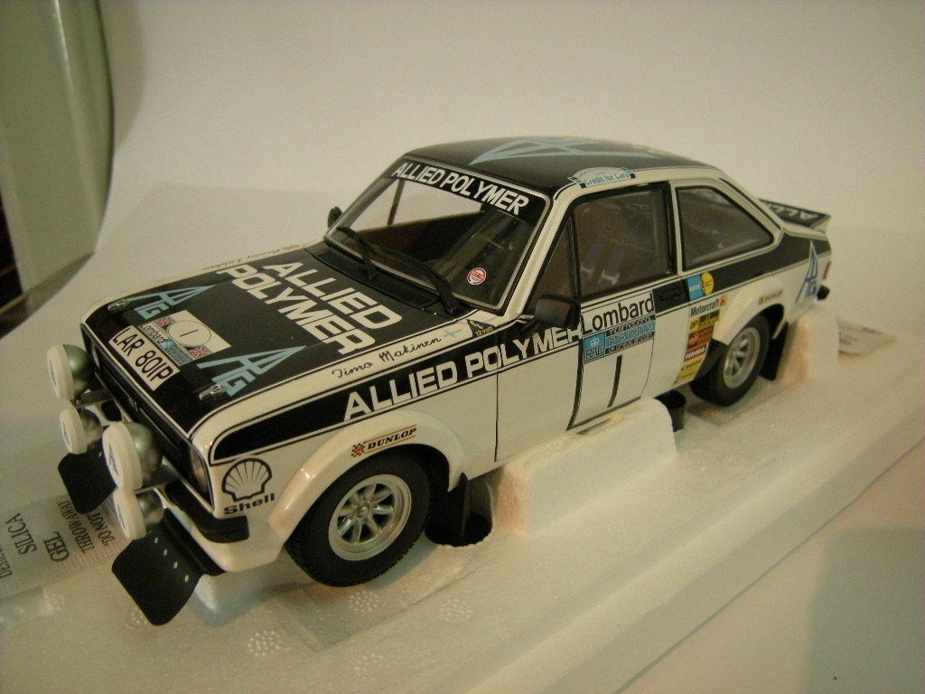1 18 Minichamps Ford Escort Ii Rs 1800 Allied polymère Winners Limited Edition