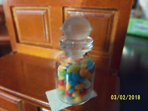 DOLLHOUSE 1//12 Miniature Lorraine Adinolfi Candy Dish of Jelly Beans Easter