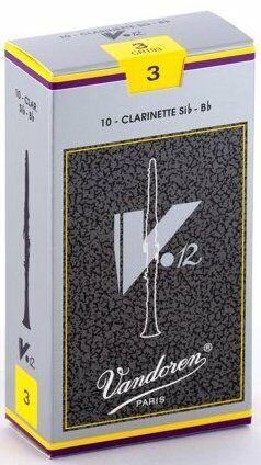 Vandoren ance clarinetto sib V12 3 box da 10