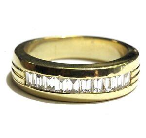 18k-yellow-gold-1ct-VS-H-mens-wedding-baguette-diamond-band-ring-14-1g-gents