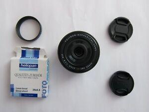 Fujinon XF 27mm F2.8 Autofocus Aspherical Fuji Prime Lens + extras