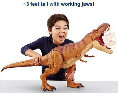 Tyrannosaurus Rex Dinosaur Action Figure Large 3Ft Realistic Detail KIds Toy