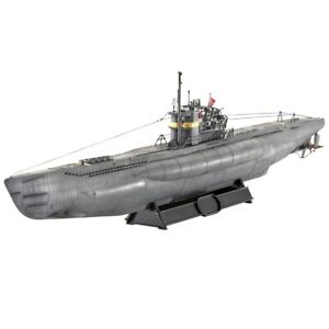 1-144-Revell-Submarine-Type-Vii-C-41-1144-C-Scale-Model-Kit-Rv05100-Viic