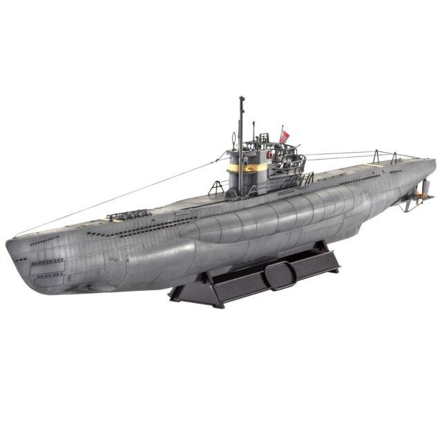 revell revell05133 106 3cm german submarine type ix c 40 model kit