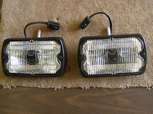 2015 Ford Bronco Price >> NOS OEM Ford 1979 1986 Mustang Marchal Fog Lights Lamps ...