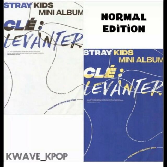 IN STOCK! STRAY KIDS CLE : LEVANTER NORMAL ED ALBUM SELECT VERSION - KPOP SEALED