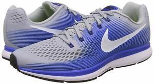 63772d8cc2868 Men s Nike® NWOB Air Zoom Pegasus 34 Grey White Blue Running Shoes ...
