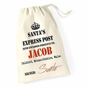 Personalizzata-Babbo-Natale-Natale-Espresso-Santa-Sacco-Calza-Regalo-di-Natale