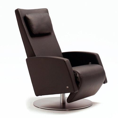 Rolf Benz Funktions Sessel Lse 5800 In Leder Dunkelbraun Ebay