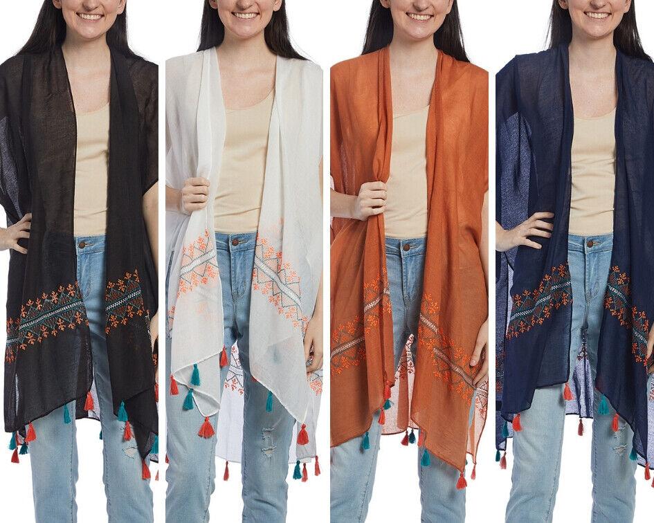 New! Espressa USA Geometric Tribal Belted Kimono Sleeve Tunic Top Plus 1XL 2XL