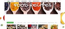 Established Profitable Cooking Recipes Dropship Business Website Autoupdating
