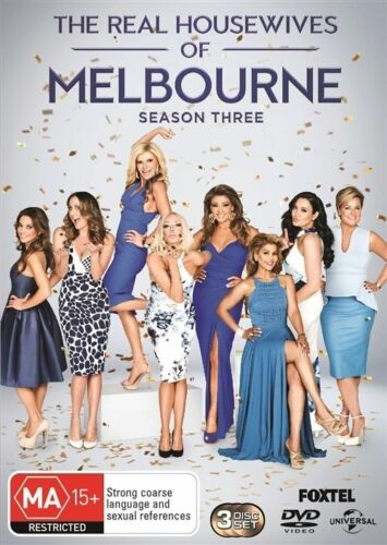 1 of 1 - The Real Housewives Of Melbourne Season 3 Three Third DVD NEW Gina Liano Breaux