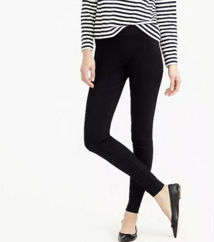 Day Petite Jcrew New Pixie Leggings Nero In Stretch H0713 Ponte Any Ps Pantalone qAt5x5F6