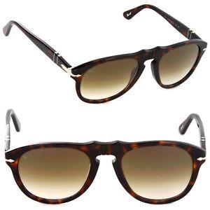 c001794567 NEW Persol PO0649 24 51 52mm Havana   Brown Gradient Sunglasses