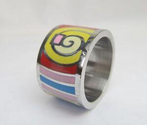 Design-Ring-Edelstahl-Lack