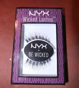 c6b0bd49ecc Image is loading NYX-Cosmetics-Wicked-Lashes-WL11-RISQUE-Brand-New-