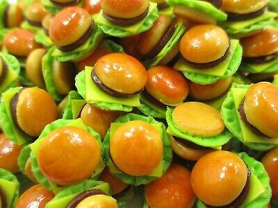 Dollhouse Food Accessories 10 Kiwi Fruit Dollhouse Miniature Loose Food 14954