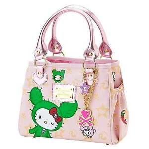 7ca3f1a57 Image is loading RARE-Tokidoki-Hello-Kitty-Sandy-Pink-Mini-Boston-