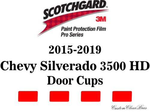 3M Scotchgard Paint Film Pro Series 2016 2017 2018 2019 Chevy Silverado 3500 HD