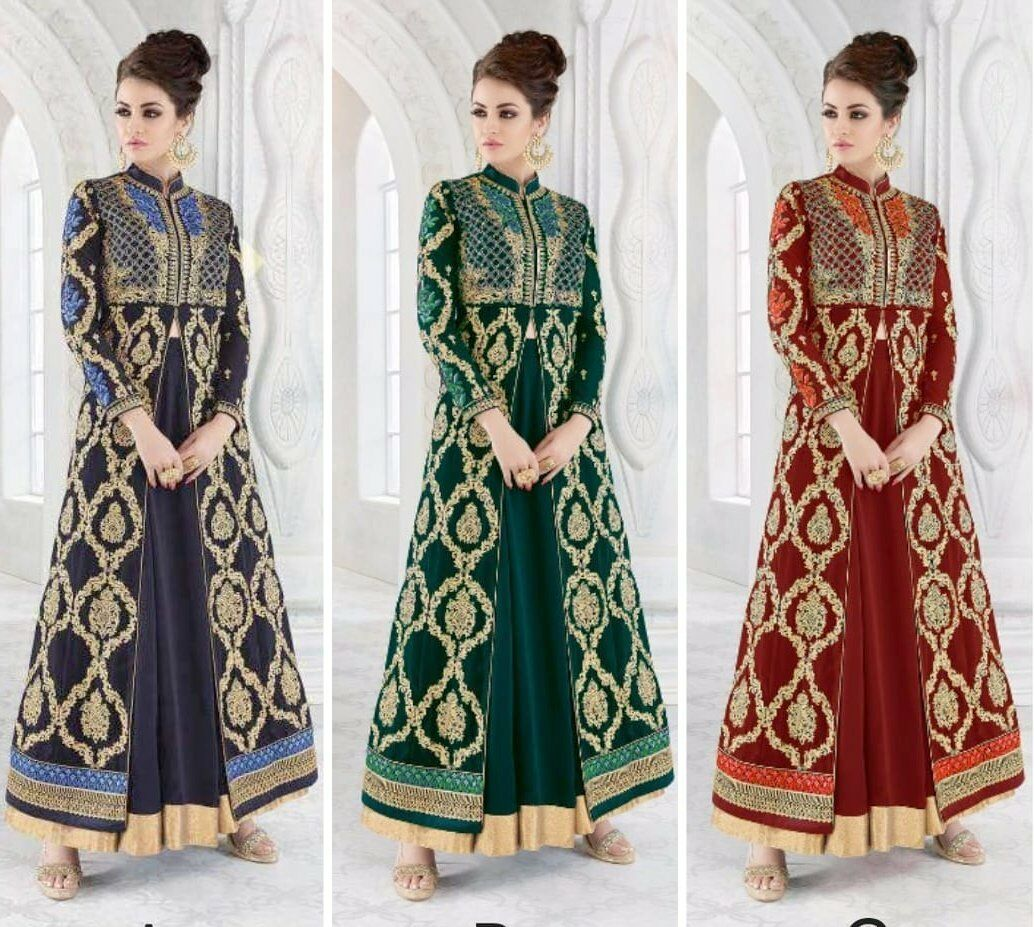 Kameez Salwar Indian Pakistani Suit Designer Dress Anarkali Wear Shalwar KB