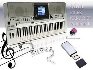 MIDI-File-Karaoke-USB-stick-for-PSR-S710-Vol-1