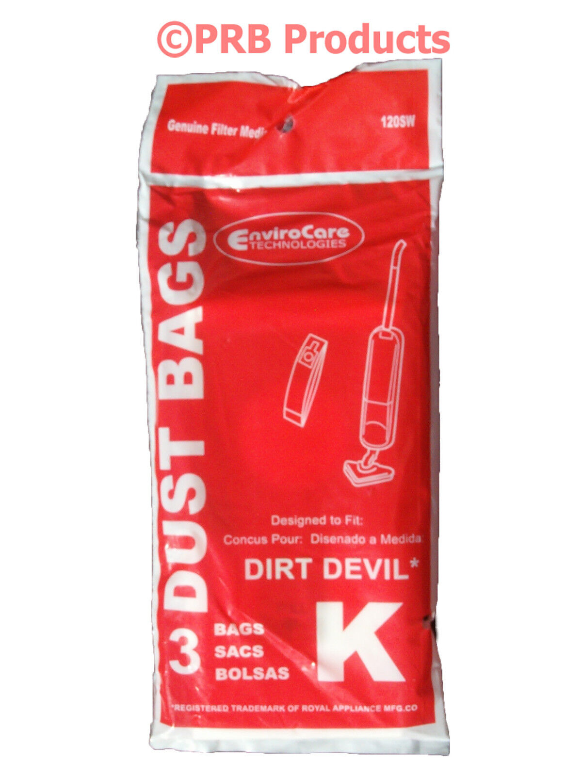 15 x DIRT DEVIL Vacuum Cleaner Bags Double Walled Filter Lined Hoover Bag