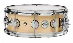DW-Drum-Workshop-Collector-039-s-Series-5-039-039-x14-039-039-Maple-Snare-Drum-w-Satin-Oil-Finish