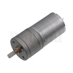 DC-Gear-Motor-High-Torque-25GA-12V-120rpm-370-for-DIY-Robotics-Arduino