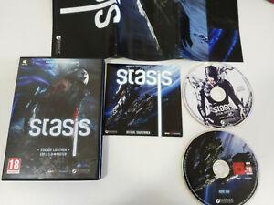 STASIS-EDICION-LIMITADA-BSO-POSTER-JUEGO-PARA-PC-DVD-ROM-ESPANOL-DAEDALIC