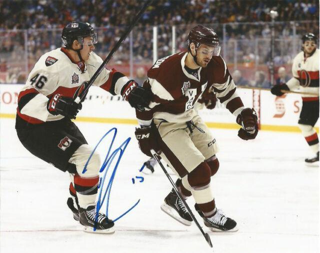 Vancouver Canucks Brad Richardson Heritage Autographed Signed 8x10 Photo COA B
