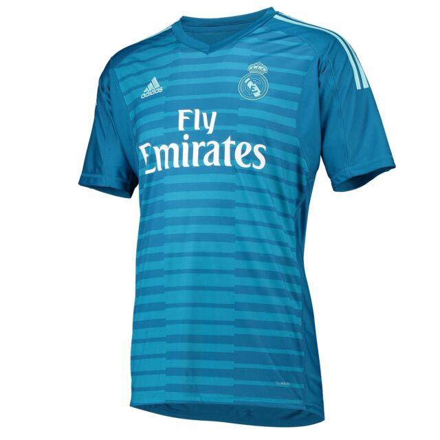 big sale f7831 5c17d Mens Small Real Madrid Away Goalkeeper Shirt 2018-19 Print Courtois 25 Rm20