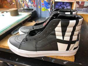 0883ffbb3bde Vans SK8-Hi (Classic Tumble) Black Leather Size US 11.5 Men s ...