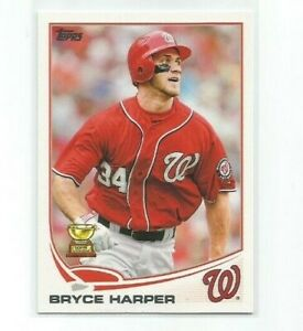 """BRYCE HARPER (Washington Nationals) 2013 TOPPS """"ALL-STAR ROOKIE"""" CARD #1"""