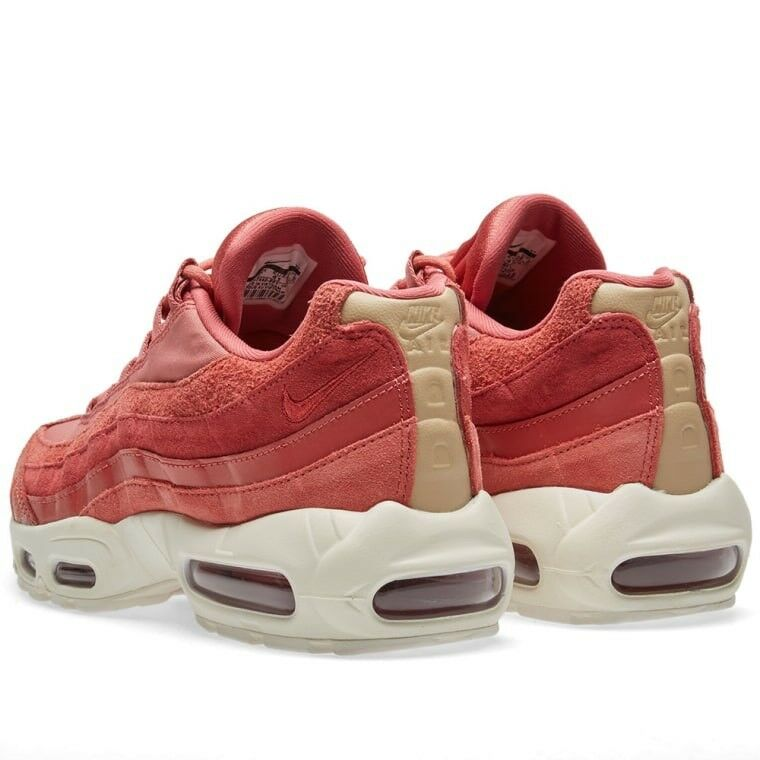 Nike Air Max 95 Premium Premium Premium Light rougewood voile Taille UK 4 EUR 37.5 807443-801 ee96f3