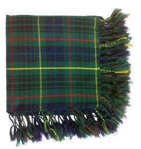 "Hunting Stewart Men/'s Scottish Kilt Fly Plaid Various Tartans 48/""X48/"" Acrylic Wo"