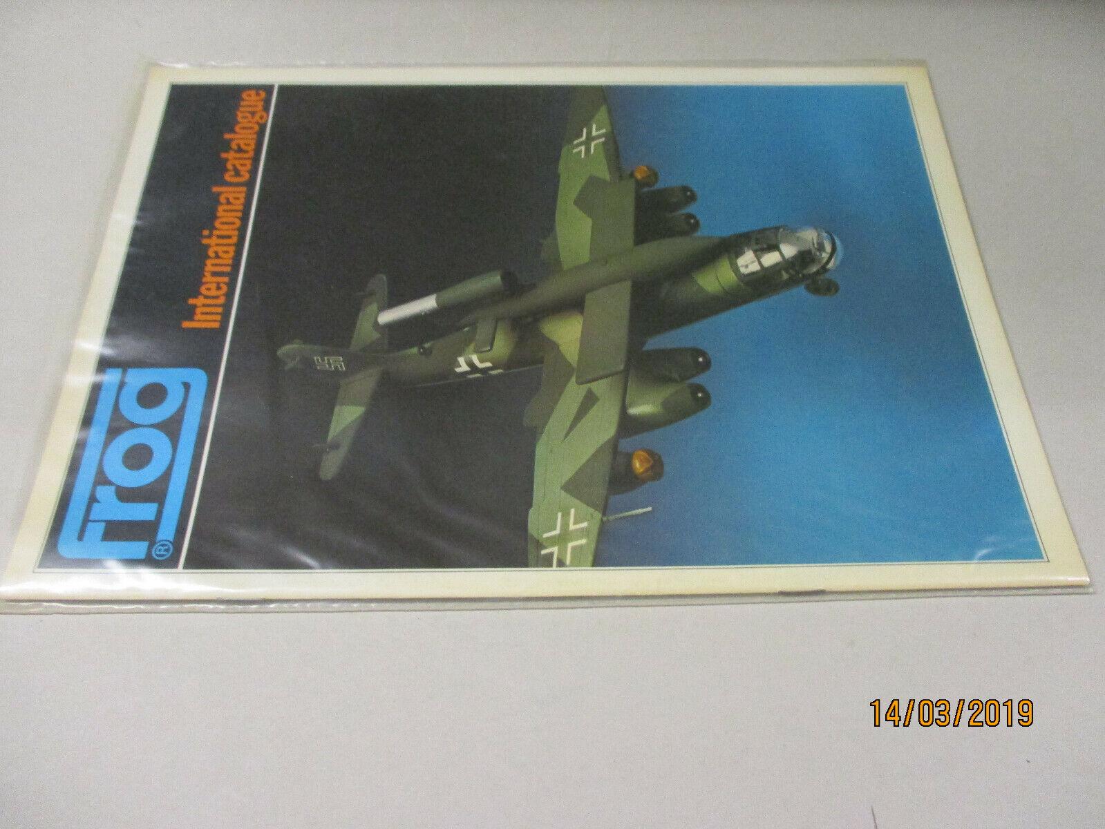 Frog Model Bausätze Katalog  1976