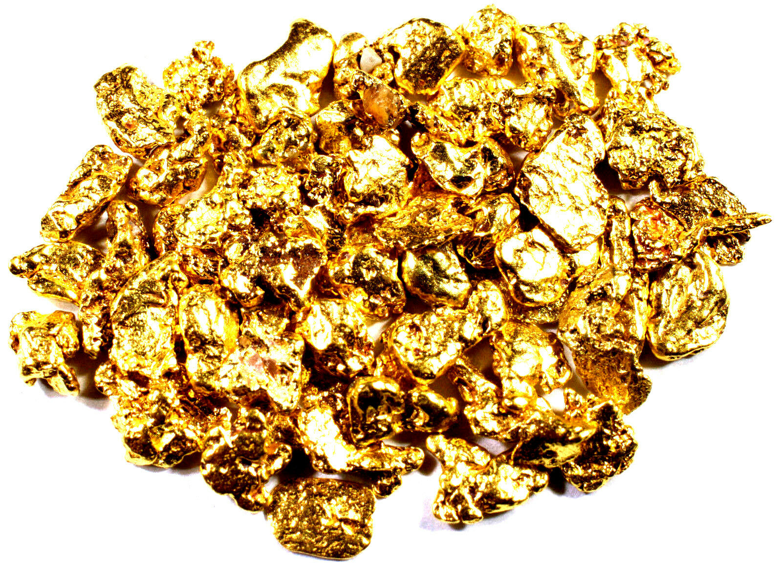 Gold Nuggets from the American River   #8 mesh 5.0 grams