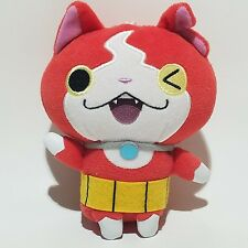 "6"" Yokai Watch JIBANYAN Plush Crane UFO Machine Doll Banpresto Wink Winky Face"