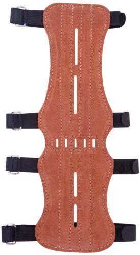 Target Fine Suede Arm Guard Size:32cm Long x 9cm Wide Archery Products.AG-200C.
