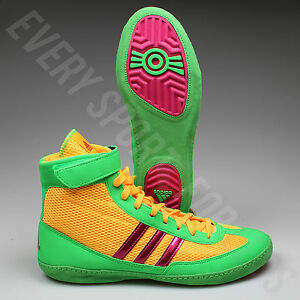 newest a0000 a906d Image is loading Adidas-Combat-Speed-4-Wrestling-Shoes-AQ3059-Gold-