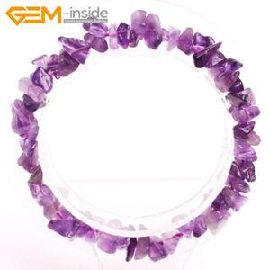 Handmade-Chips-Gemstone-Bead-Bracelet-Healing-Chakra-Reiki-Jewellery-Gift-7-034-UK