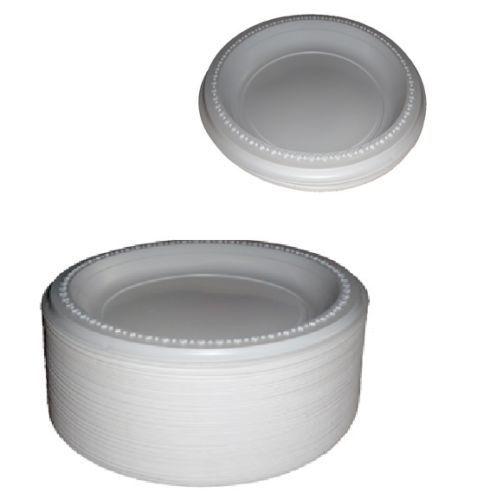 Desechables De Plástico blancoo Placas Platos De Papel 3 sección Placas 6 sección Placas