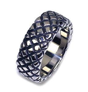 R10-Herren-Ring-Edelstahl-MIT-SCHMUCKBEUTEL-Ringe-Schmuck-BIKER-men-rings