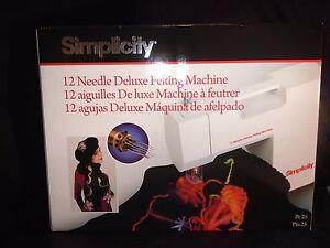 Détails Titre Vendeur D'origine Feutrage Le Simplicity Machine Livraison Rapide Neuf Uk Sur Afficher xdoreWCB