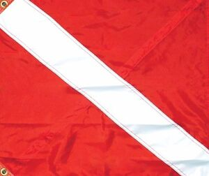 Taylor Made Diver Down Flag 20 x 24 with Stiffener
