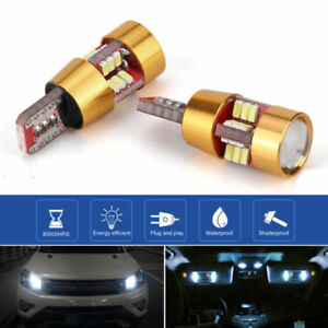 2pcs-50W-921-T10-T15-194-LED-6000K-HID-Blanco-Respaldo-Bombillas-de-luz-Inversa