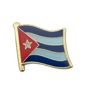 Lapel Pin Badge....BRAND NEW CUBA....Cuban Country Metal Enamel Flag