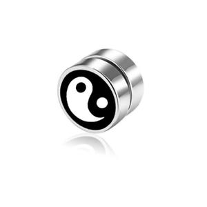 1Stk Herren oder Frauen  Magnetische Ohrring 8x8mm