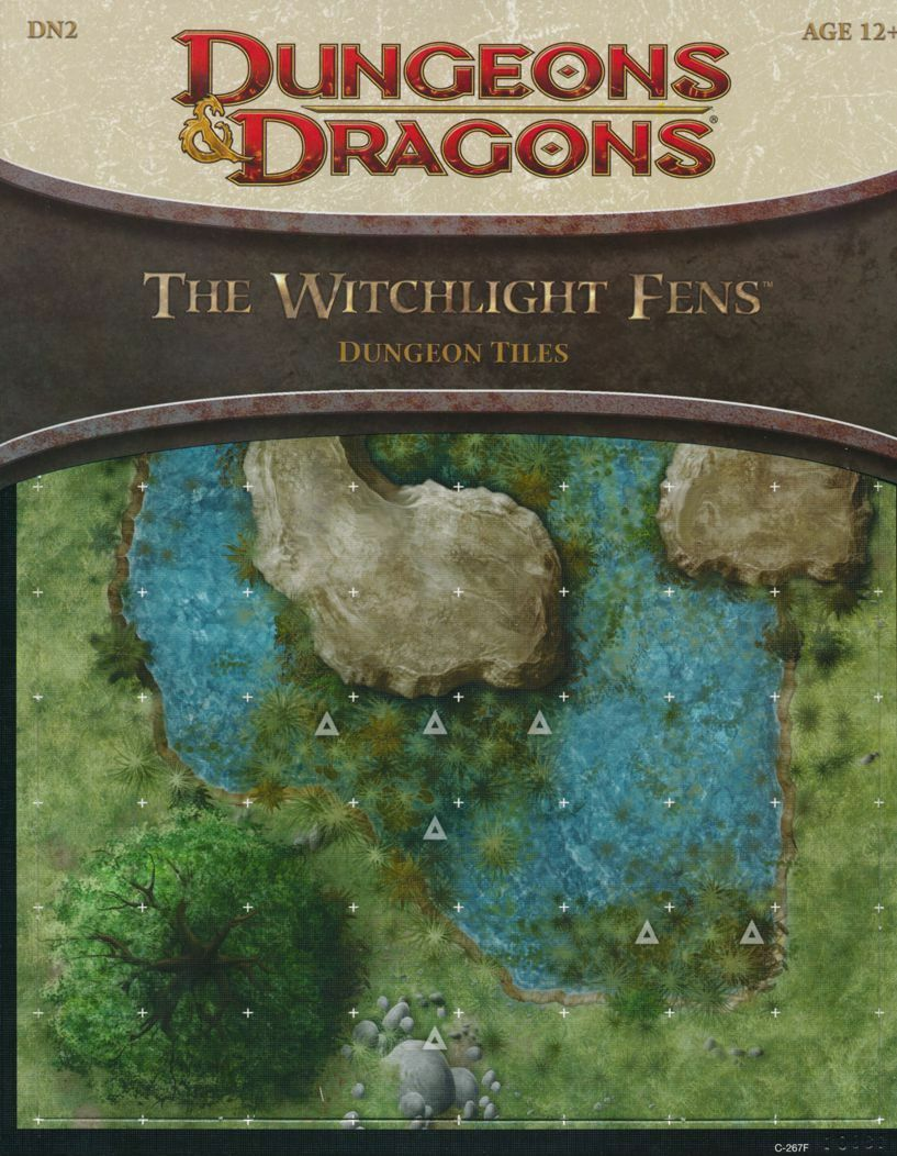 Dungeons & Dragons witchlight pantanos Dungeon Azulejos, nuevo